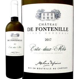 シャトー・ド・フォントニル・ブラン 2017フランス ボルドー 白ワイン 750ml 辛口