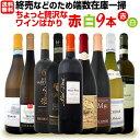【送料無料】端数在庫一掃!ちょっと贅沢なワインばかり!赤白ワイン9本セット!