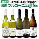 【送料無料★120セット限り】厳選ブルゴーニュ白ワイン5本セット!!