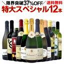 【送料無料】本格シャンパン&ブルゴーニュ入り!特大スペシャル12本セット!