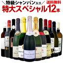 【送料無料】特級シャンパン&銘醸ラドワ&シャブリ入り!特大スペシャル!12本19,800円(税別)!