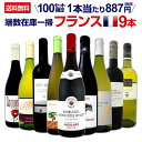 【送料無料★100セット限り】端数在庫一掃★フランスワイン9本セット!!