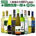 【送料無料】端数在庫一掃★白ワイン9本セット!!