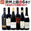 [クーポンで10%OFF]赤ワイン セット 【送料無料】第107弾!当店厳選!これぞ極旨赤ワイン!『大満足!充実の飲み応え!』贅沢なスーパー・セレクト赤ワインセット 6本!