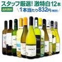 白ワイン セット 【送料無料】第102弾!超特大感謝!≪スタッフ厳選≫の激得白ワインセット 12本!