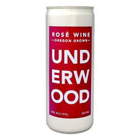 アンダーウッド・オレゴン・ロゼ(250ml缶入り)【アメリカ】【ロゼワイン】【250ml】【Underwood】【Oregon】