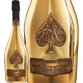 シャンパーニュ・アルマン・ド・ブリニャック・ブリュット・ゴールド【シャンパン】【750ml】【正規輸入品】【化粧箱入り】【Armand de Brignac】