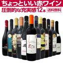 【送料無料】当店オススメばかりを厳選したちょっといい赤ワイン12本セット!ワイン ワインセット セット 赤ワインセ…