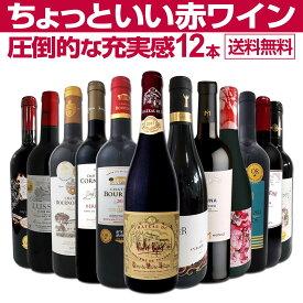 【送料無料】第9弾!当店オススメばかりを厳選したちょっといい赤ワイン12本セット!ワイン ワインセット セット 赤ワインセット 赤ワイン 赤 飲み比べ 送料無料 ギフト プレゼント 750ml フルボディ