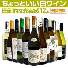 【送料無料】第8弾!当店オススメばかりを厳選したちょっといい白ワイン12本セット!
