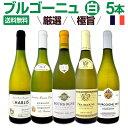 【送料無料】厳選ブルゴーニュ白ワイン5本セット!!ワイン ワインセット セット 白ワインセット 白ワイン 白 飲み比べ …