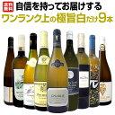 【送料無料】自信を持ってお届けするワンランク上の極旨白ワインだけ9本セット!ワイン ワインセット セット 白ワイン…