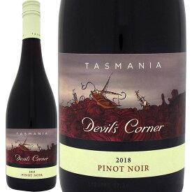 デヴィルズ・コーナー・タスマニア・ピノ・ノワール2018【オーストラリア 赤ワイン 750ml ミディアムボディ Devil's Corner】
