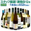 白ワインセット 【送料無料】第125弾!超特大感謝!≪スタッフ厳選≫の激得白ワイン 750ml 12本セット!ワインセット 辛口 白ワインセ…