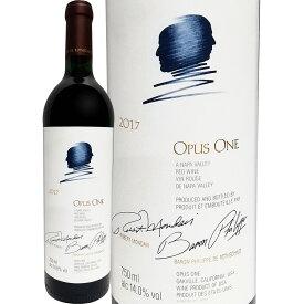 オーパス・ワン 2017 アメリカ 赤ワイン 750ml フルボディ 辛口 パーカー95点 Opus One ワイン 赤ワイン 赤 ギフト プレゼント カリフォルニア グランヴァン