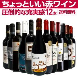 【送料無料】第25弾!当店オススメばかりを厳選したちょっといい赤ワイン12本セット!ワイン ワインセット セット 赤ワインセット 赤ワイン 赤 飲み比べ 送料無料 ギフト プレゼント 750ml フルボディ