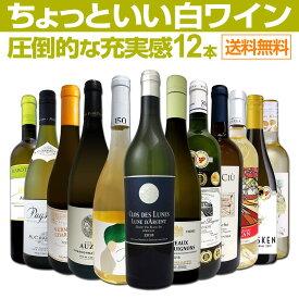 【送料無料】第18弾!当店オススメばかりを厳選したちょっといい白ワイン12本セット!