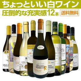 【送料無料】第20弾!当店オススメばかりを厳選したちょっといい白ワイン12本セット!