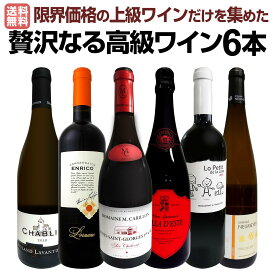 【送料無料】圧倒的リッチ!ワイン好き必見!とにかく飲んでみて下さい!限界価格の上級ワインだけを集めた贅沢なる高級ワイン6本!