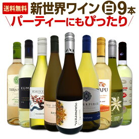 【送料無料】新世界白ワイン9本セット!パーティーにもぴったり!