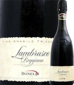 ランブルスコ ドネリ・ランブルスコ・レッジャーノ・アマービレ(スカリエッティ・ボトル)【イタリア】【赤微発泡】【750ml】【ミディアムボディ】【やや甘口】