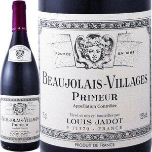 ルイ・ジャド・ボジョレー・ヴィラージュ・プリムール 2017|ワイン 赤ワイン ぶどう酒 葡萄酒 ボジョレーヌーボー スティルワイン ボジョレーヌーヴォー 内祝い 結婚記念日 還暦祝い 退職祝い お礼 男性 女性 手土産
