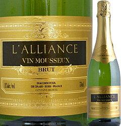[クーポンで10%OFF]スパークリング ヴァン・ムスー ラリアンス・ブリュット【フランス】【白スパークリングワイン】【750ml】
