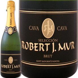 cava ロベルト・ホタ・ムール・カヴァ・セレクシオン・ブリュット【スペイン】【白スパークリングワイン】【750ml】【ミディアムボディ寄りのライトボディ】【辛口】