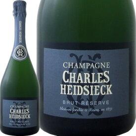 シャルル・エドシック・ブリュット・レゼルヴ【フランス】【白シャンパン】【750ml】【ミディアムボディ】【辛口】【Chales Heidsieck】【ボックスなし】