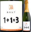 ウ・メス・ウ・ファン・トレス・ブリュット スペイン スパークリングワイン ミディアムボディ スパーク