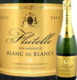 スパークリングワイン ラ・テット・ノワール・フリュッテル・ブラン・ド・ブラン【フランス】【白スパークリングワイン】【750ml】【フルボディ】【辛口】
