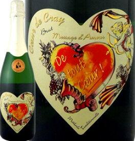 ドメーヌ・クレイ・モン・ルイ・シュル・ロワール・ブリュット NV【フランス】【白スパークリングワイン】【750ml】【ミディアムボディ】【辛口】