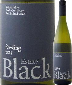 【5月月間セール対象商品】ブラック・エステート リースリング 2013【ニュージーランド】【白ワイン】【750ml】【ミディアムボディ】【辛口】