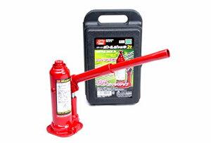 エマーソン 油圧式ボトルジャッキ2t SG規格適合品 ケース付き アジャスター付き38mm 微調整 最低位181〜229mm 最高位292〜340mm 軽四
