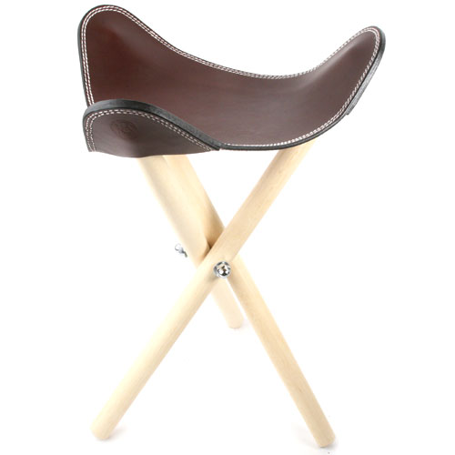 Tripod Chair leather leather outdoor chairs folding chair KC s keysiise saddle stool * wrapping the outside  sc 1 st  Rakuten & kc-s | Rakuten Global Market: Tripod Chair leather leather outdoor ... islam-shia.org