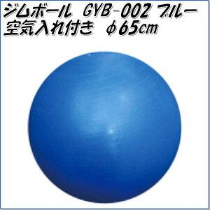 【別途送料が掛かります(S)】中旺ヘルス ジムボール GYB002 φ65cm ブルー【メーカー直送】【代引き/同梱不可】【バランスボール ヨガボール ダイエット器具 エクササイズ トレーニング