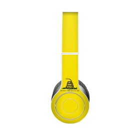 【Decalgirl】Beats Solo 3 Wireless/Beats Solo 2 Wireless/Beats Studio Wireless/Beats Solo 2/Studio 2013/Beats Mixr/Beats Wireless(2012年以前)/Beats Studio/Beats Solo HD用プレミアムスキンシール【Gadsden Flag】【お取り寄せ1週間から2週間】カバーケース