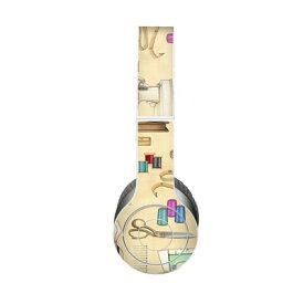 【Decalgirl】Beats Solo 3 Wireless/Beats Solo 2 Wireless/Beats Studio Wireless/Beats Solo 2/Studio 2013/Beats Mixr/Beats Wireless(2012年以前)/Beats Studio/Beats Solo HD用プレミアムスキンシール【Haberdashery】【お取り寄せ1週間から2週間】カバーケース