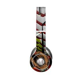 【Decalgirl】Beats Solo 3 Wireless/Beats Solo 2 Wireless/Beats Studio Wireless/Beats Solo 2/Studio 2013/Beats Mixr/Beats Wireless(2012年以前)/Beats Studio/Beats Solo HD用プレミアムスキンシール【Home Run】【お取り寄せ1週間から2週間】カバーケース