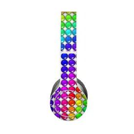 【Decalgirl】Beats Solo 3 Wireless/Beats Solo 2 Wireless/Beats Studio Wireless/Beats Solo 2/Studio 2013/Beats Mixr/Beats Wireless(2012年以前)/Beats Studio/Beats Solo HD用プレミアムスキンシール【Rainbow Candy】【お取り寄せ1週間から2週間】カバーケース