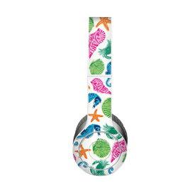 【Decalgirl】Beats Solo 3 Wireless/Beats Solo 2 Wireless/Beats Studio Wireless/Beats Solo 2/Studio 2013/Beats Mixr/Beats Wireless(2012年以前)/Beats Studio/Beats Solo HD用プレミアムスキンシール【Sea Life】【お取り寄せ1週間から2週間】カバーケース