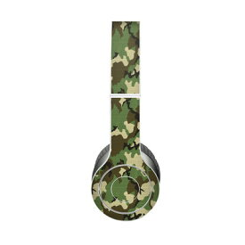【Decalgirl】Beats Solo 3 Wireless/Beats Solo 2 Wireless/Beats Studio Wireless/Beats Solo 2/Studio 2013/Beats Mixr/Beats Wireless(2012年以前)/Beats Studio/Beats Solo HD用プレミアムスキンシール【Woodland Camo】【お取り寄せ1週間から2週間】カバーケース