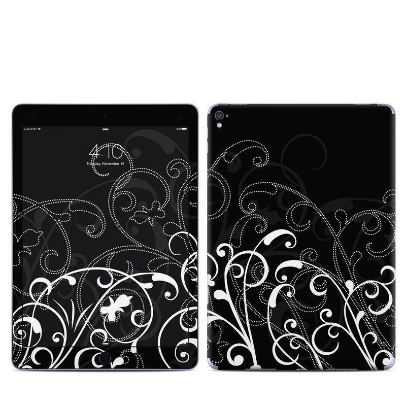 【Decalgirl】Apple iPad Pro9.7/iPad Pro12/iPad Air2/iPad Air/iPad3/iPad2/iPad用スキンシール【B&W Fleur】【お取り寄せ1週間から2週間】ケースカバー
