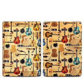 【Decalgirl】Apple iPad Pro9.7/iPad Pro12/iPad Air2/iPad Air/iPad3/iPad2/iPad用スキンシール【Guitar Collage】【お取り寄せ3週間】ケースカバー