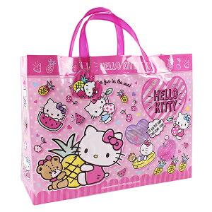ハローキティ ビーチバッグ マチアリ プールバッグ 角型 ビニールバッグ キッズ 女の子 キティちゃん HELLO KITTY サンリオ sanrio ピンク