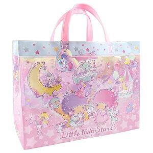 リトルツインスターズ キキララ ビーチバッグ マチアリ プールバッグ 角型 ビニールバッグ キッズ 女の子 kiki&lala サンリオ sanrio ピンク ゆめかわ