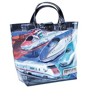 新幹線 ビーチバッグ バケット プールバッグ バケットタイプ バケット型 ビニールバッグ キッズ 男の子 乗り物 電車 はやぶさ こまち かがやき E5系 E6系 E7系 JR
