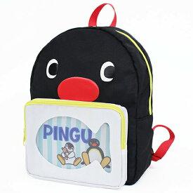 【刺繍可】ピングー クリアポケットリュック 中身がデコれるポケット!デイパック リュックサック バックパック デコバッグ 痛バッグ キッズ PINGU ペンギン 女の子 男の子 ユニセックス 名入れ