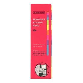【HIGHTIDE/ハイタイド】リムーバブルスティッキングメモL【ピンク】 CN126PI 【あす楽対応】