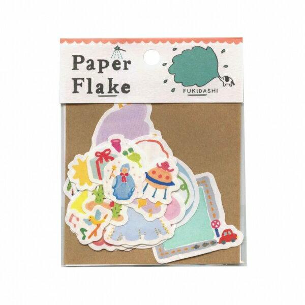 【いろは出版】AIUEO Paper Flake/ペーパーフレーク【ふきだし】 APF-13 【あす楽対応】